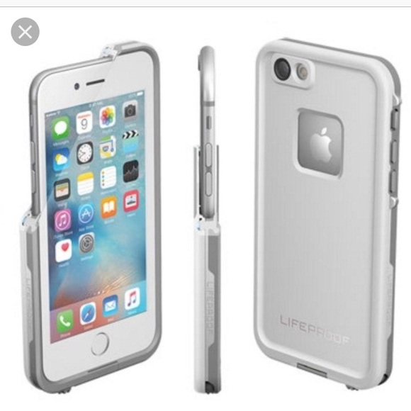 LifeProof Other - White Grey iPhone 7 Lifeproof Case be258b55ce99